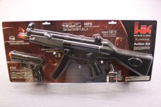 Koch Airsoft Electric Metal MP5 Auto Machine Gun P30 Pistol New