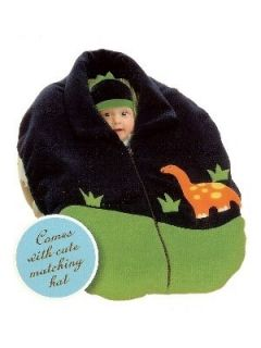 Widgeon Snugaroo Infant Baby Car Seat Cover Jacket Matching Hat Fleece