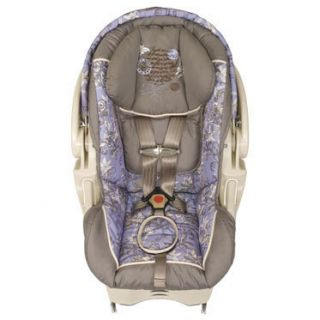 New 4pc Baby Trend Wisteria Lane Replacement Car Seat Cover