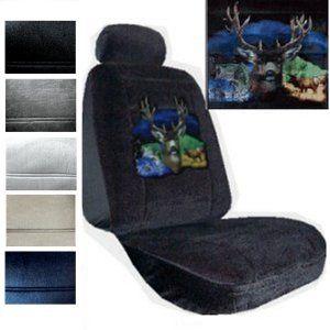 Seat Covers Car Truck SUV Elk Deer Fish Low Back PP 3