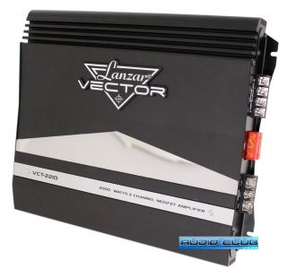 2000W 2 Channel High Power MOSFET Car Subwoofer Amplifier
