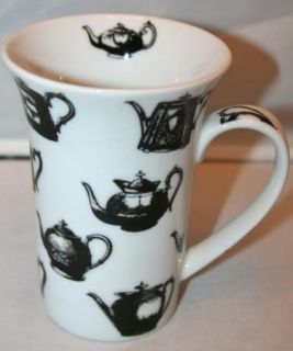 New Paul Cardew Antique Pewter Coffee Tea Cup Mug Teapots Tall 14 Oz
