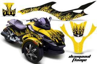 AMR Decal Kit Stickers Can Am BRP Canam Spyder Parts DF
