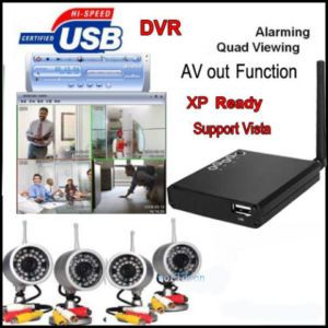 CCTV Camera Security System DIY Kit for Home Business