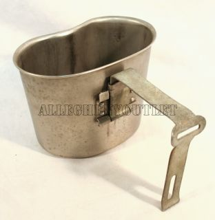 USGI Military Army Vintage Old WWII Style Canteen Cup Nice