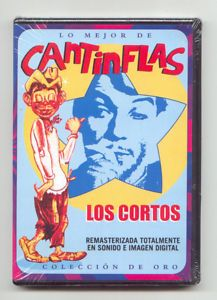 CANTINFLAS FIRST PERFORMANCES Reg1 4 NEW DVD Los Cortos very rare