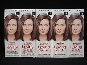 CLAIROL Natural Instincts Loving Care Hair Color Light Ash Brown # 75