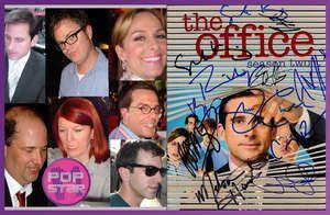 The Office Cast Signed DVD by 11 Steve Carell Rain Wilson John