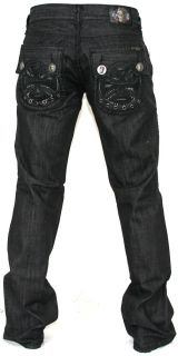 New Mens Laguna Beach Jeans Capistrano Beach Boot Cut Black 36