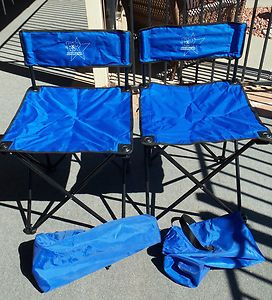 Folding Camp Chairs in carrying bags Great for camping picnics