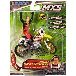 Ricky Carmichael MXS Dirt Bike Toys