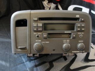 1999 2004 volvo s80 cd cassette car stereo radio 9472824 1 oem