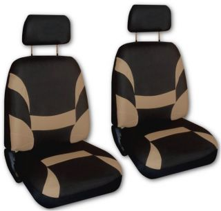 Black Faux Leather Xtreme Car Seat Covers Free Accessories Z