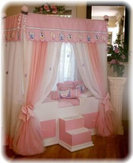 Toddler Disney Princess Canopy Bedding Girls Bed Canopy Bed Girls