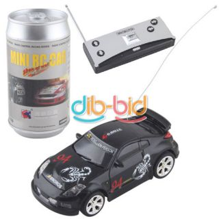 Coke Can Mini RC Radio Remote Control Micro Racing Vehicles Car Toy