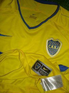 Carlos Tevez Boca Juniors 03 Match UNWORN Shirt