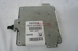 Toyota Carolla Engine Control Unit ECM ECU 89661 02K23