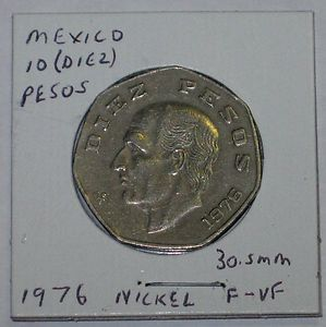 1989 Mexico 100 Peso Coin Copper Nickel V Carranza 26 5 Mm