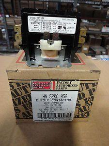 Carrier Parts HN52KC052 Contactor 30 Amp 2 Pole 120 Volt Coil