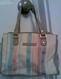Caribbean Joe Small, Canvas, Multi Color Pocketbook in Excellent Used