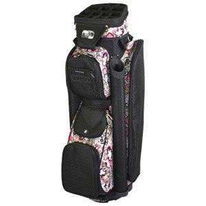 RJ Sports Ladies Boutique Cart Bag Black Paisley Golf