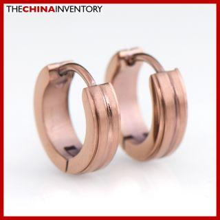 New Cool Stainless Steel Hoop Cartilage Earrings E2205