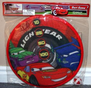 Disney Cars Lightning McQueen Dart Game New in Package