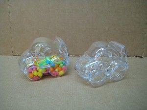 Shower Party Favor Box Candy Box Lot of 6 Car Shape Plastic Box