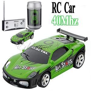 Mini Coke Can RC Radio Remote Control Micro Racing Car Toy Vehicles