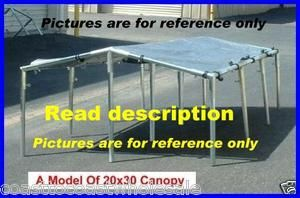 Car Truck Boat Canopy Tent Kit, Carport Dealer Home Business