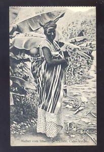 Cape Verde s Vincente Mulher com Filho PPC