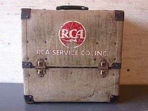 Vintage RCA Repair Mans Tube Service Man Carrying Case