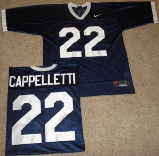 Penn State Nittany Lions Cappelletti Sewn Football Jersey Mens SM