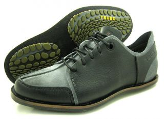 New Tsubo Mens Cartan Black Grey Dress Shoes All Sz