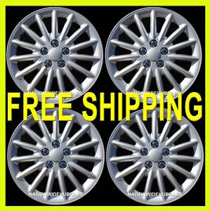 16 New Hub Caps Rims Wheel Covers Set of 4 Free SHIP