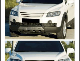 For 2008 2010 Chevy Captiva Front Hood Grill Painted Exterior Interior