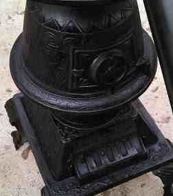 Cast Iron Pot Belly Stove Natural Gas