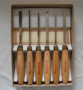 Sorby* 6 pm Woodcarving box set Wood Carving Tools  Never Used England
