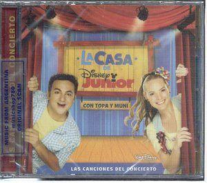 La Casa de Disney Junior Con Topa Y Muni Las Canciones Del Concierto