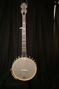 New Gold Tone Bob Carlin 350 Openback Clawhammer Banjo Blem