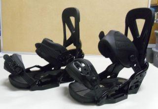 2012 Burton Cartel Est Snowboard Bindings M Black Brand New Boots $260