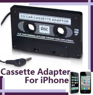 iPod CD Player Car Stereo Audio Cassette Tape Converter