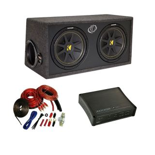 Kicker Car Stereo Dual 12 DC12 Comp Subwoofer Speaker Sub Box IX500 2
