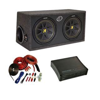 Kicker Car Stereo Dual 12 DC12 Comp Subwoofer Speaker Sub Box IX500 2