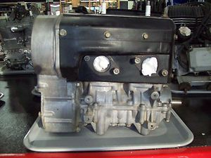 Arctic Cat 340 Fan Cooled Twin Snowmobile Engine Motor REDUCED