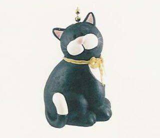 Black Cat Kitten Kitty Feline Lover Ceiling Fan Light Pull