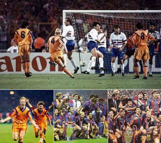 1992 European Champions Cup Final Barcelona Sampdoria DVD English Full