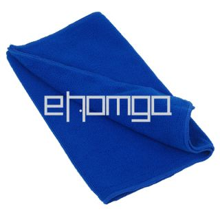 Blue Car Wipe Cloth Wash Micro Fibre Cleaning Towel 30x70 CM