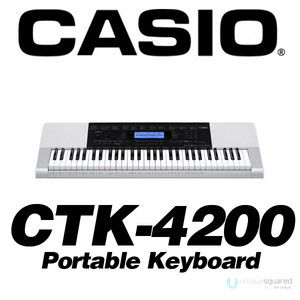 Casio CTK4200 CTK 4200 61 Key Piano Style Portable Electronic Keyboard
