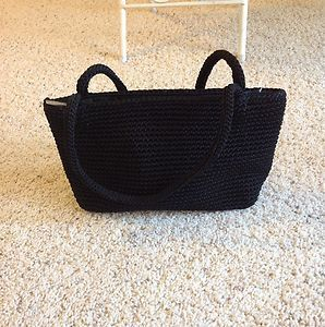 The Sak Black Mini Handbag Black NWT  Super Cute